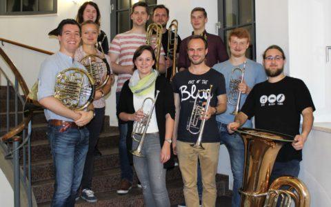 """Sommersemester 2019 - Fotoprojekt """"Das Orchester"""": Blech-Register"""