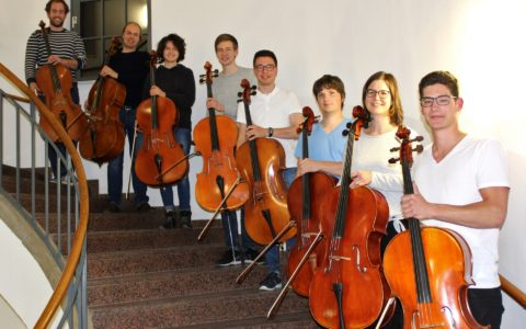 "Sommersemester 2019 - Fotoprojekt ""Das Orchester"": Celli"