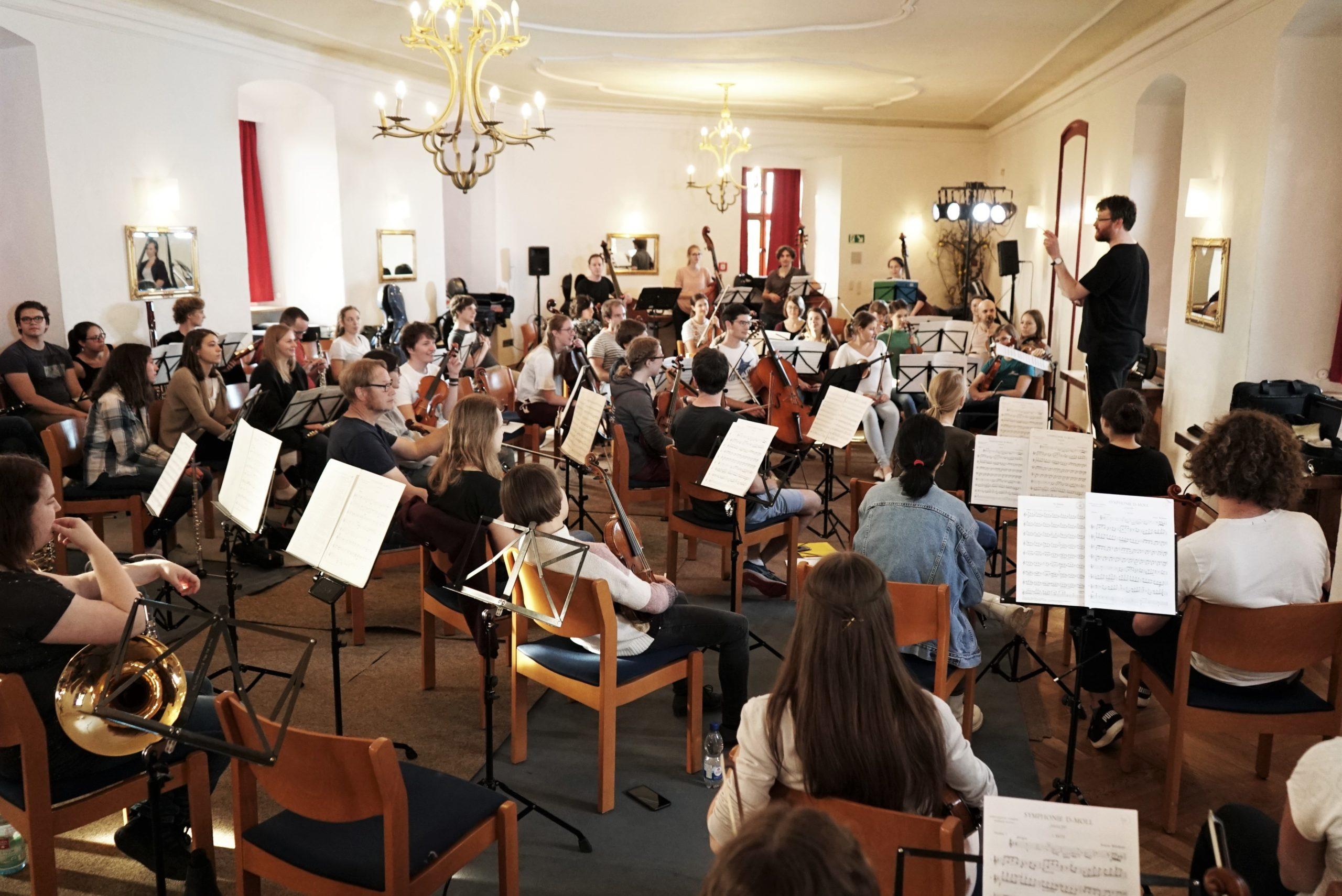Sommersemester 2019 - Impressionen vom Probenwochenende auf Burg Hoheneck