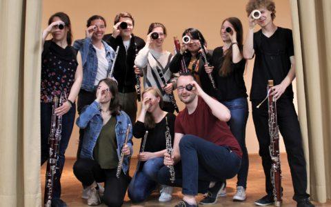 """Sommersemester 2019 - Fotoprojekt """"Das Orchester"""": Holz-Register"""